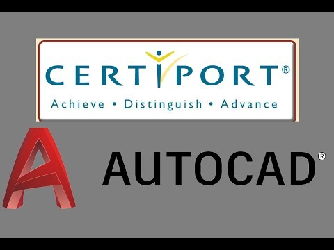 0 - Certiport AutoCAD Certified Professional Exam Review Series ...