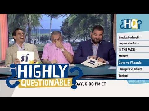 Papi predicts a LeBron James-John Wall conversation | Highly Questionable | ESPN