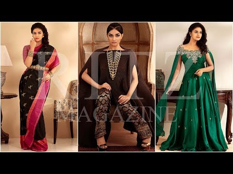 Exclusive making video of Keerthy Suresh's photoshoot for RITZ Magazine