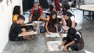 35 Anak Respon Karya di Cushcush Art Gallery