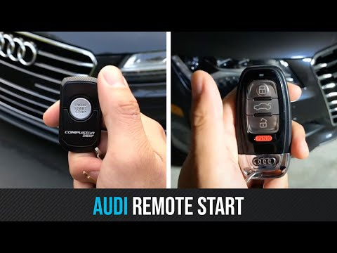Remote Start Your Audi