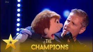 Paul Zerdin: Incredible Ventriloquist Leaves Judges Open-Mouthed!| Britain's Got Talent: Champions