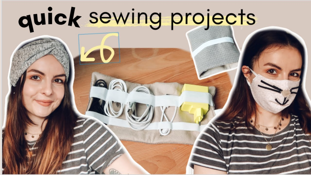 Easy and Quick Sewing Projects from Scrap Fabric that also make great Gifts