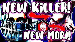 JIGSAW | NEW KILLER AND MORI GAMEPLAY!   Dead By Daylight