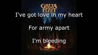Greta Van Fleet   Edge Of Darkness   Lyrics