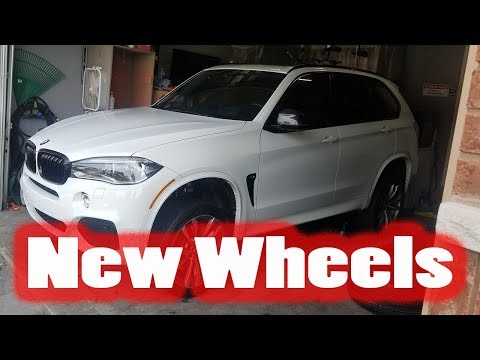 """X5 gets 21"""" wheels and Pirelli P Zero Tires"""
