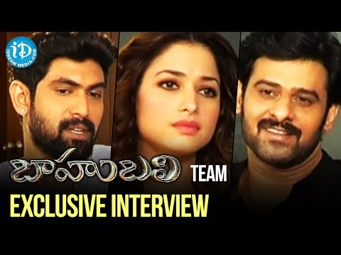 Bahubali Team Exclusive Interview