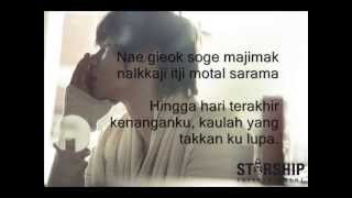 K Will - You Are Love OST Arang and The Magistrate (Indonesia Lyrics Translation)