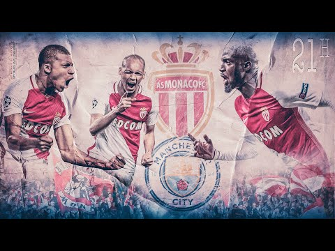 RETRO Champions League : AS Monaco 3-1 Manchester City (live)