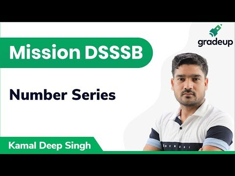 Number Series for DSSSB | General Intelligence & Reasoning Ability | Gradeup