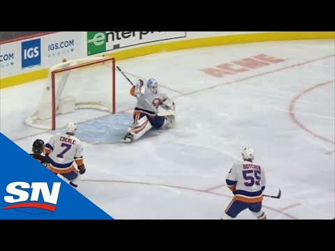 Sean Couturier Rings One Off The Crossbar To Beat Thomas Greiss