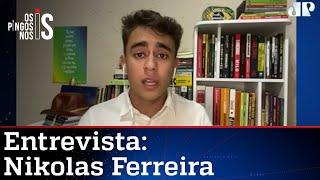 Nikolas Ferreira: Ato do MBL mostrou que não é Bolsonaro quem está sozinho
