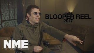 NME's 2017 blooper reel, starring Marilyn Manson, Skepta and Liam Gallagher