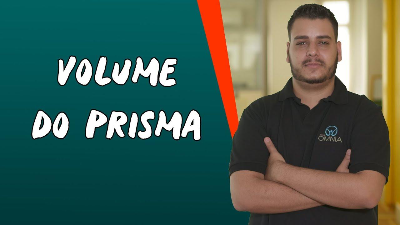 Volume do Prisma
