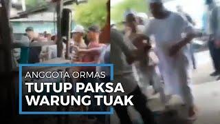 Anggota Ormas Paksa Tutup Warung Tuak di Batang Kuis, Polisi Janji Usut Tuntas