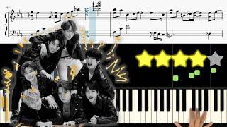 BTS (방탄소년단) - ON  피아노 튜토리얼