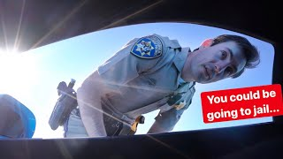 YOU WONT BELIEVE HOW FAST CALIFORNIA STATE POLICE CLOCKS ME... *COP VS SUPERCAR*