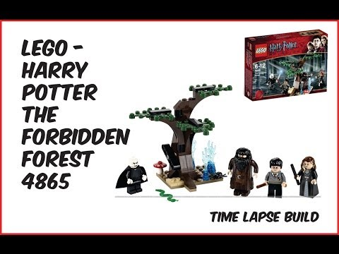 Vidéo LEGO Harry Potter 4865 : La forêt interdite