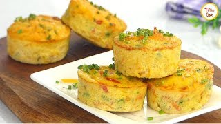 Easy Egg Muffin- Healthy Breakfast Recipe For Kids By Tiffin Box | Vegetable Omelette Muffins Recipe