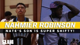 Nate Robinson's son Nahmier is SHIFTY! Freshman PG from Seattle 💦