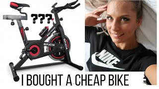 CHEAP EXERCISE BIKE REVIEW | FITNESS SUPERSTORE | Body Power SP.IC14 Cycle | PELOTON ALTERNATIVE