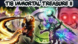 IMMORTAL TREASURE 2 - FULL PREVIEW + TREASURE OPENING! THE INTERNATIONAL - TI8 DOTA 2