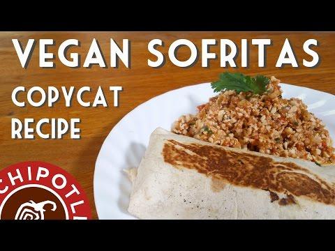 CHIPOTLE'S COPYCAT SOFRITAS | Vegan Burrito Recipe