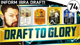 IN FORM IBRA!!! FUT DRAFT TO GLORY #74 - FIFA 16 Ultimate Team Gameplay