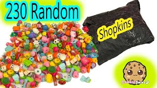 Super Large Random Surprise Lot of 230 Shopkins Season 2, 3, 4, 5 Mystery Package