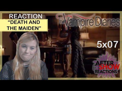 The Vampire Diaries - Season 5 Episode 8 (REACTION) 5x08