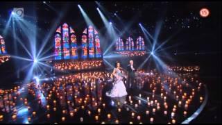 Karel Gott a Lucie Bílá | vystúpenie | Česko Slovensko má talent 2011