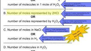 Moles Worksheet