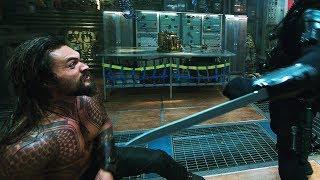 Aquaman vs Black Manta. Submarine | Aquaman [4k]