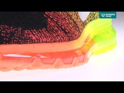 Herren Laufschuh Nike Flyknit Air Max