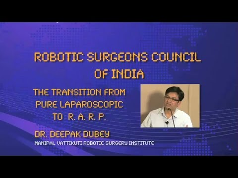 The Transition from pure Laparoscopic to RARP