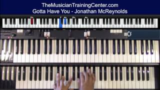 """Organ: How to Play """"Gotta Have You"""" by  Jonathan McReynolds"""