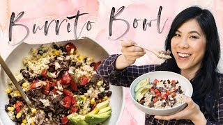 Barbacoa BURRITO BOWL with Mealthy MultiPot - Pressure Cooker Recipe | HONEYSUCKLE