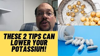 Potassium and Kidney Disease   How To Lower Your Potassium Levels Video #2