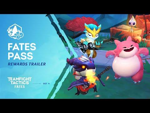 Discover the Fates Pass | Rewards Trailer – Teamfight Tactics