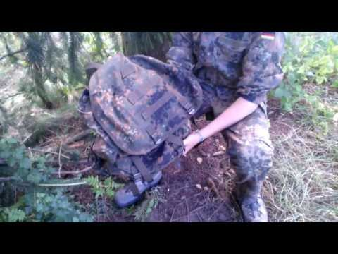 Miltec City Rucksack Flecktarn - Review - German