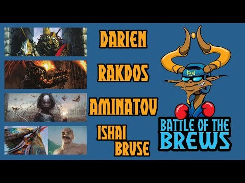 Battle of the Brews | Darien | Rakdos | Aminatou | Bruse/Ishai | Commander Gameplay