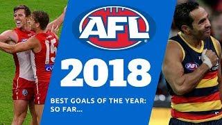 AFL- Best Goals Of 2018: So Far