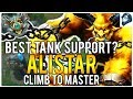 BEST TANK SUPPORT ALISTAR Climb to Master League of Legends