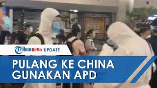 Viral Ratusan WN China Diduga Tim Medis Pakai APD Lengkap di Soekarno Hatta, Ini Kata Pihak Bandara