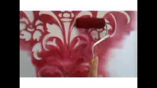 Aprenda você mesmo a fazer a decoração de sua casa com efeito de papel