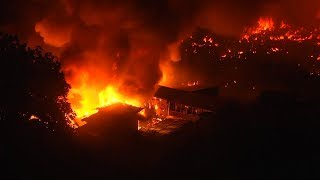 video: Massive Bangladesh slum fire leaves 10,000 people homeless