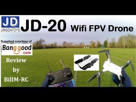 JDRC JD-20 unboxing, analysis, setup, failsafe, features & flight tests