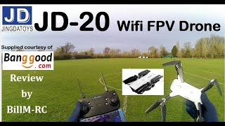 JDRC JD-20 WIFI FPV Quadcopter drone review фото