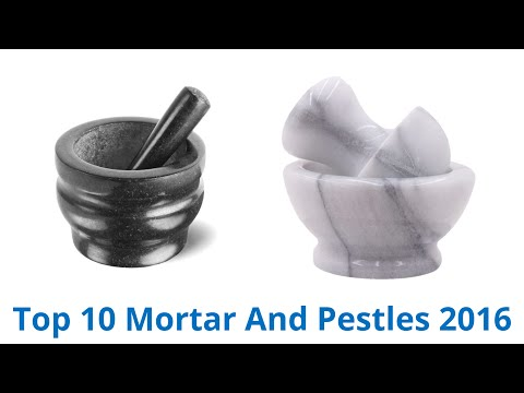 10 Best Mortar And Pestles 2016