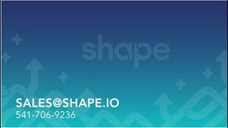 Shape Integrated Software video